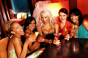 Find out the top 5 places for bachelorette party